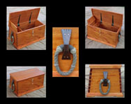 Mahogany Sea chest